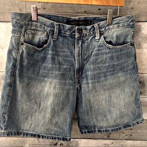 Calvin Klein Jean High Waist Shorts Size 12